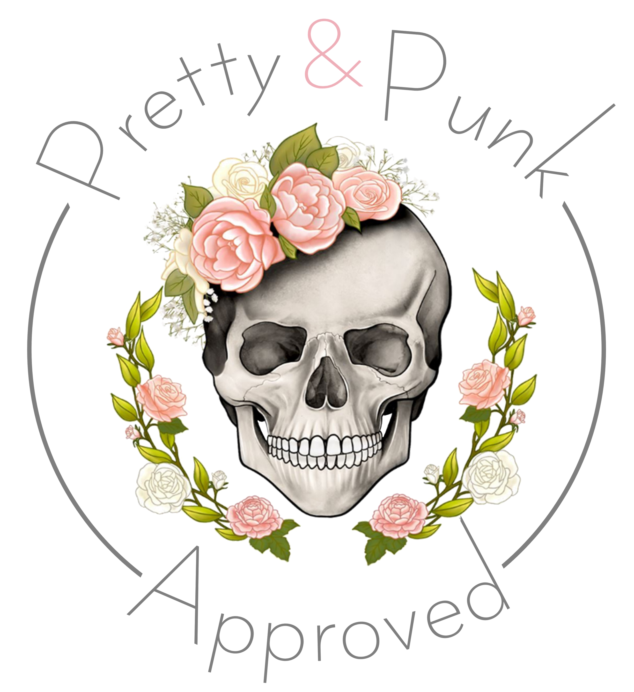 Pretty and Punk Logo